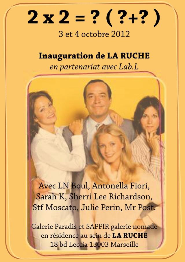 inauguration La Ruche 3 et 4 octobre 2012